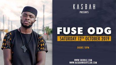 Fuse ODG – Sat 12 Oct